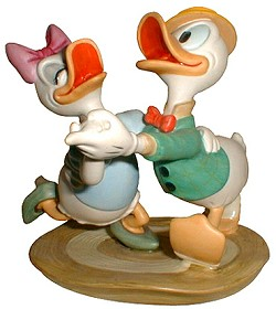 WDCC Disney Classics_Daisy & Donald Oh Boy What A Jitterbug
