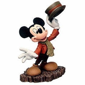 WDCC Disney Classics_Mickey Christmas Carol Mickey Mouse And A Merry Christmas To You Ornament