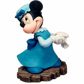 WDCC Disney Classics_Mickey Christmas Carol  Minnie Mouse Ornament Mrs Cratchit Ornament