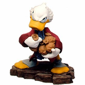 WDCC Disney Classics_Mickey Christmas Carol Scrooge Mcduck Ornament Bah-Humbug Ornament