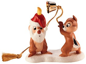 WDCC Disney Classics_Plutos Christmas Tree Chip N Dale Ornament (1997)