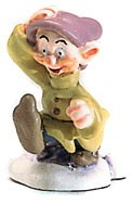 WDCC Disney Classics_Snow White Dopey Miniature