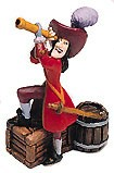 WDCC Disney Classics_Peter Pan Captain Hook Miniature