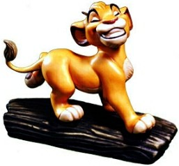 WDCC Disney Classics_The Lion King Simba Ornament
