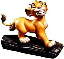 WDCC Disney Classics_The Lion King Simba Ornament