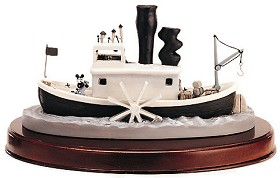 WDCC Disney Classics_Steam Boat Willie Steamboat