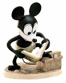 WDCC Disney Classics_Plane Crazy Mickey Mouse How To Fly