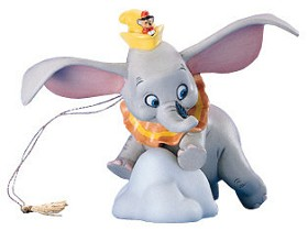 WDCC Disney Classics_Dumbo When I See An Elephant Fly Ornament