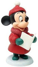 WDCC Disney Classics_Plutos Christmas Tree Minnie Mouse Caroler Minnie
