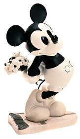 WDCC Disney Classics_Puppy Love Mickey Mouse Brought You Something
