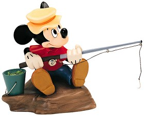 WDCC Disney Classics_The Simple Things Mickey Mouse Somethin Fishy
