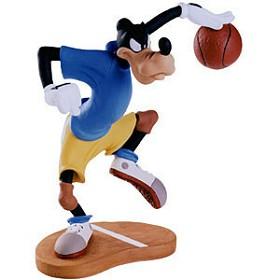 WDCC Disney Classics_Double Dribble Goofy Dribbling Down Court