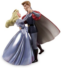 WDCC Disney Classics_Sleeping Beauty Princess Aurora And Prince Phillip A Dance In The Clouds (BLUE)