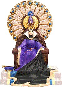 WDCC Disney Classics_Snow White Evil Queen Enthroned Evil
