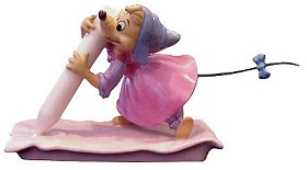 WDCC Disney Classics_Cinderella Chalk Mouse (perla) No Time For Dilly Dally