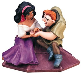 WDCC Disney Classics_The Hunchback Of Notre Dame Esmerelda And Quasimodo Not A Single Monster Line