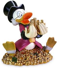 WDCC Disney Classics_Scrooge McDuck Money! Money! Money!