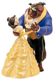 WDCC Disney Classics_Beauty And The Beast Belle And Beast Tale As Old As Time