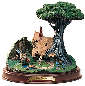 WDCC Disney Classics_Sleeping Beauty The Woodcutter's Cottage