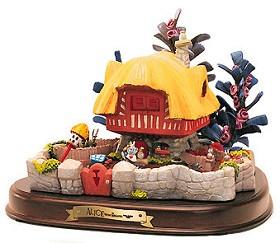 WDCC Disney Classics_Alice In Wonderland White Rabbit's House