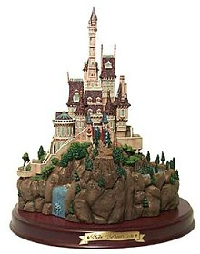 WDCC Disney Classics_Beauty And The Beast Beast's Castle