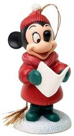 WDCC Disney Classics_Plutos Christmas Tree Minnie Mouse Caroler Minnie Ornament