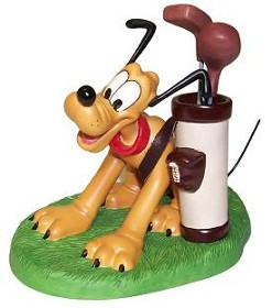 WDCC Disney Classics_Canine Caddy Pluto A Golfer's Best Friend