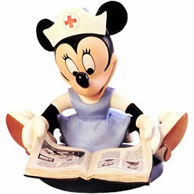 WDCC Disney Classics_First Aiders Minnie Mouse Student Nurse