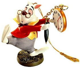 WDCC Disney Classics_Alice In Wonderland White Rabbit No Time To Say Hello-Goodbye-Ornament