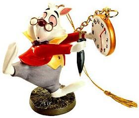 WDCC Disney Classics_Alice In Wonderland White Rabbit No Time To Say Hello-Goodbye-Ornament