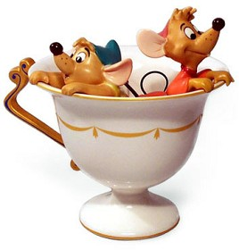 WDCC Disney Classics_Cinderella Gus And Jaq Tea For Two