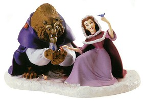 WDCC Disney Classics_Beast & Belle She Didn't Shudder At My Paw
