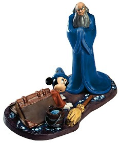 WDCC Disney Classics_Fantasia 2000 Yensid And Mickey Oops