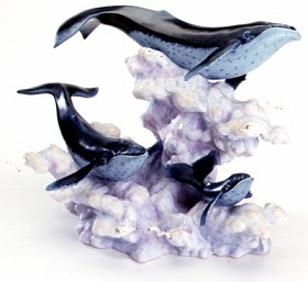 WDCC Disney Classics_Fantasia 2000 Whales Soaring In The Clouds Signed By Patrick Romandy-Simmons