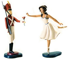 WDCC Disney Classics_Fantasia 2000 Tin Soldier And Ballerina Gift Of Love