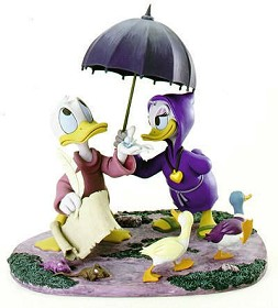 WDCC Disney Classics_Fantasia 2000 Donald And Daisy Looks Like Rain