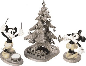 WDCC Disney Classics_Mickey's Orphans Mickey, Minnie & Christmas Tree Hooray For The Holidays