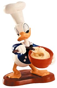 WDCC Disney Classics_Chef Donald Donald Duck Somethings Cooking