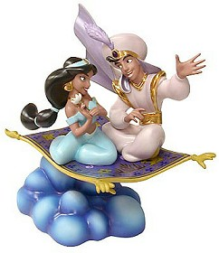 WDCC Disney Classics_Aladdin Aladin And Jasmine A Whole New World