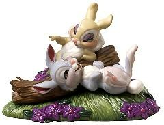 WDCC Disney Classics_Bambi Thumper & Miss Bunny Twitterpated In The Springtime