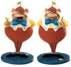 WDCC Disney Classics_Alice In Wonderland Tweedle Dee & Tweedle Dum