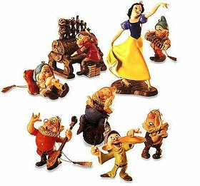 WDCC Disney Classics_Snow White And The Seven Dwarfs Ornament Set