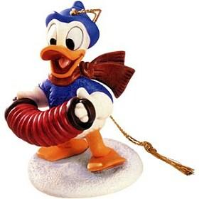 WDCC Disney Classics_Donald Duck Ornament Fa La La Ornament