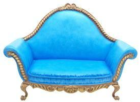 WDCC Disney Classics_The Aristocats Sofa Base