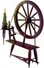 WDCC Disney Classics_Sleeping Beauty Spinning Wheel Spinning An Evil Spell