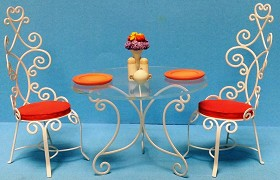 WDCC Disney Classics_Mary Poppins Table and Chairs Accessory Set A Magical Setting