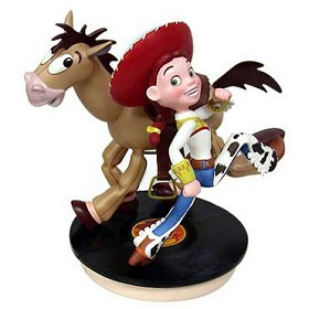 WDCC Disney Classics_Toy Story 2 Jessie And Bullseye Yeee-Ha And Ride Like The Wind