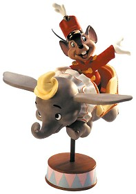 WDCC Disney Classics_Dumbo Timothy Mouse In Dumbo Ride Flight Over Fantasyland