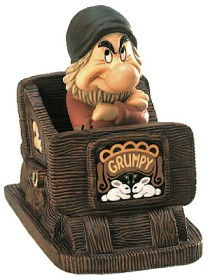 WDCC Disney Classics_Grumpy in Snow White Hmph! I Ain't Scared From Fantasyland Hand Signed
