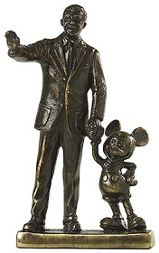 WDCC Disney Classics_Partners Walt Disney And Mickey Mouse